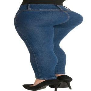 5e0a42114d Fiorella Shapewear Jeans - Butt Lift Jeans High Waist Rise Levanta Cola  500BB